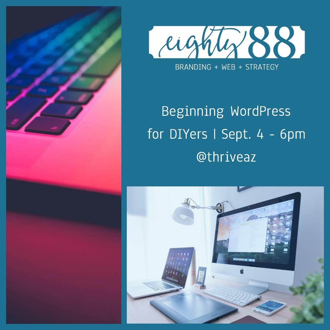 Beginning WordPress for DIYers